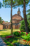 Basilica of San Giovanni Evangelista of Ravenna. Italy. Stock Photography
