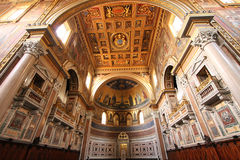 Basilica San Giovanni in Laterano, Rome Stock Photos