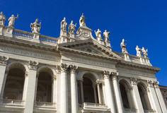 Basilica San Giovanni in Laterano in Rome. Stock Images