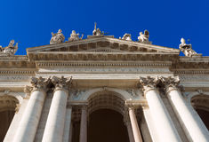 Basilica San Giovanni in Laterano in Rome Stock Photography