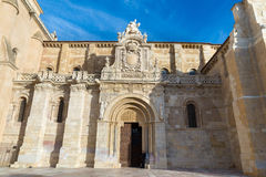 Basilica of San Isidoro. In Leon - Spain Royalty Free Stock Images