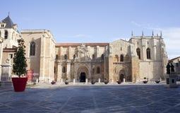 Basilica of San Isidro, León Royalty Free Stock Photos