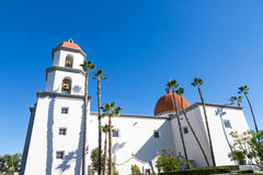 Basilica San Juan Capistrano Stock Photography