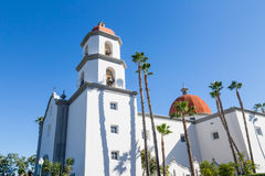 Basilica. The Basilica of San Juan Capistrano in Southern California Royalty Free Stock Images