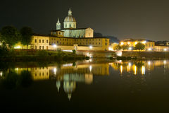 Basilica of san lorenzo Royalty Free Stock Photography