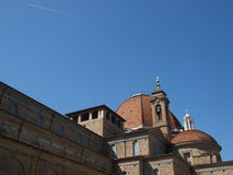 Basilica of San Lorenzo It. Royalty Free Stock Images