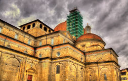 Basilica of San Lorenzo in Florence Royalty Free Stock Photo