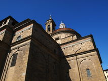 Basilica of San Lorenzo Italy Stock Photo