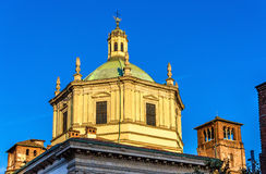 Basilica of San Lorenzo Maggiore in Milan Stock Images