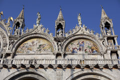 Basilica in San Marco Royalty Free Stock Image