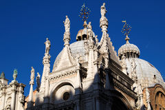 Basilica of San Marco in the City of Venice, Italy stock photos