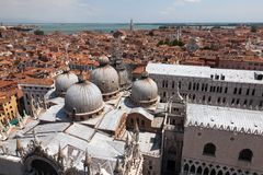 Basilica San Marco In Venice, Italy Royalty Free Stock Photo