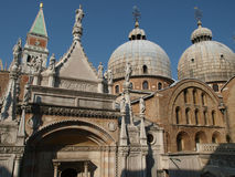 The Basilica San Marco in Venice Royalty Free Stock Photography
