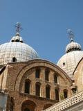 The Basilica San Marco in Venice Stock Photography