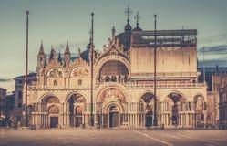 Basilica San Marco in Venice, Italy Stock Photos