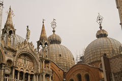 Basilica San Marco in Venice Royalty Free Stock Photo
