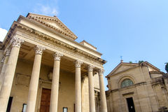 Basilica San Marino Immagine Stock Libera da Diritti