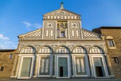 Basilica of San Miniato al Monte Royalty Free Stock Photo