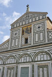 Basilica San Miniato al Monte in Florence, Italy Stock Images