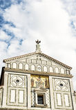 Basilica San Miniato al Monte, Florence, Tuscany, Italy, cultura Royalty Free Stock Images