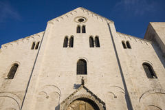 Basilica of san nicola, bari Royalty Free Stock Photography
