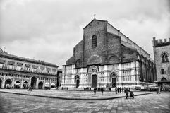 Basilica San Petronio, Bologna royalty free stock photo