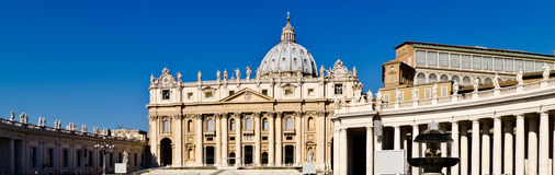 Basilica San Pietro. Papal Basilica of St. Peter, Vatican Stock Photography