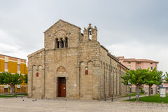 Basilica San Simplicio in Olbia Royalty Free Stock Photography