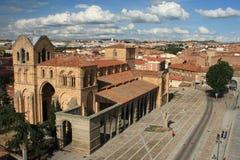 Basilica of San Vicente in Avila Stock Image