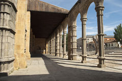Basilica of San Vicente in Avila (Spain) Stock Photos