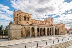 Basilica San Vincente of Avila Stock Image