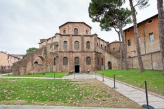 Basilica of San Vitale in Ravenna, Italy Royalty Free Stock Photography