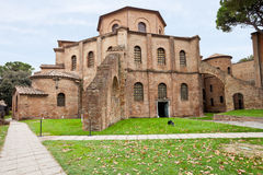 Basilica of San Vitale in Ravenna, Italy Stock Images