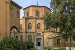 Basilica of San Vitale, Ravenna, Italy Royalty Free Stock Photography
