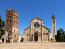 Basilica of San Zeno Verona - Italy Royalty Free Stock Photos