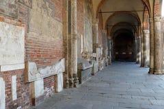 Basilica sant'ambrogio church milan,milano expo2015 Royalty Free Stock Photography