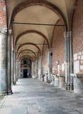 Basilica of Sant'Ambrogio, Milan, Italy. Stock Image