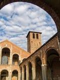 Basilica of Sant Ambrogio in Milan, Italy Royalty Free Stock Image