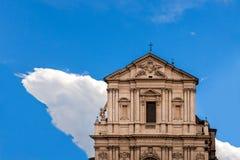Basilica Sant Andrea Della Valle Rome stock photos