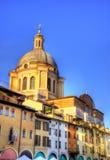 Basilica of Sant Andrea in Mantua Stock Image