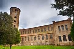 Basilica of Sant'Apollinare in classe Royalty Free Stock Photo