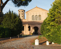 Basilica of Sant` Apollinare in Classe, Ravenna, Italy Stock Image