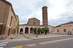 Basilica of Sant Apollinare Nuovo in Ravenna Stock Photo