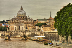 Basilica Sant Pietro,Vatican, Rome Stock Photo