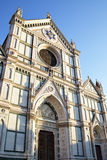 Basilica of Santa Croce Stock Photography