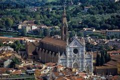 Basilica of Santa Croce Stock Photo