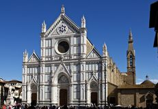 Basilica of Santa Croce Stock Images