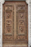 Basilica of Santa Croce door royalty free stock photo