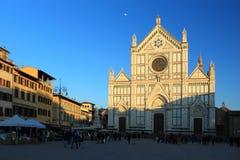 Basilica of Santa Croce in Firenze Royalty Free Stock Photos