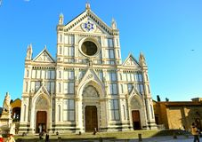 Basilica Santa Croce in Florence Stock Photo